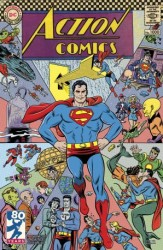 DC - Action Comics # 1000 1960s Variant