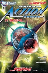 DC - Action Comics (New 52) # 5