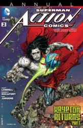 DC - Action Comics (New 52) Annual # 2