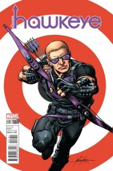 Marvel - All New Hawkeye #1 Grell Classic Variant