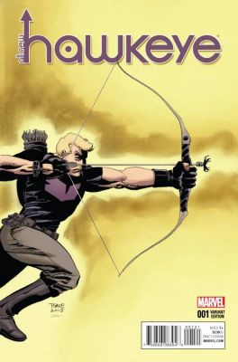 All New Hawkeye # 1 Sale Variant