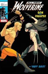 Marvel - All New Wolverine #25 Anka Lenticular Homage Variant Leg