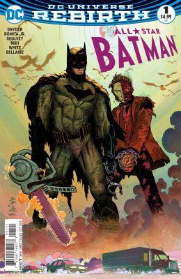 All Star Batman #1 Romita Variant