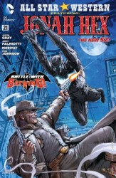 DC - All Star Western Featuring Jonah Hex (New 52) # 21