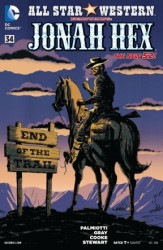 DC - All Star Western Featuring Jonah Hex (New 52) # 34