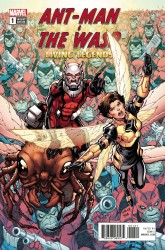 Marvel - Ant-Man And The Wasp Living Legends # 1 Nauck Variant