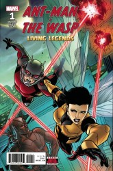 Marvel - Ant-Man And The Wasp Living Legends # 1