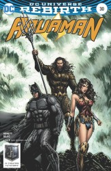 DC - Aquaman #30 Justice League Movie Variant