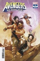 Marvel - Avengers No Road Home # 4 Noto Connecting Variant