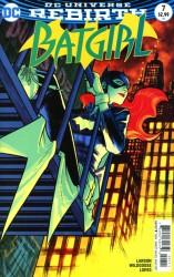 DC - Batgirl # 7 Variant