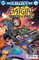 DC - Batgirl and Birds of Prey # 2