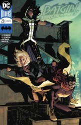 DC - Batgirl and Birds of Prey # 20 Adam Hughes Variant