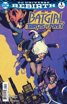 Batgirl And The Birds Of Prey # 1 Variant