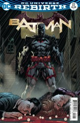 DC - Batman # 22 (The Button) Lenticular Cover