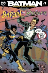 DC - Batman Prelude To The Wedding Batgirl vs Riddler