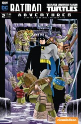 IDW - Batman Teenage Mutant Ninja Turtles Adventures # 2 Subscription Variant 1