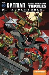 IDW - Batman Teenage Mutant Ninja Turtles Adventures # 2 Variant