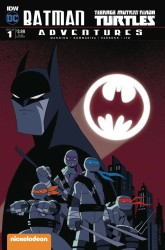 IDW - Batman Teenage Mutant Ninja Turtles Adventures # 1 Subscription Variant 2