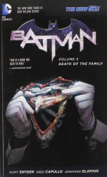 DC - Batman (New 52) Vol 3 Death of The Family TPB