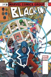 Marvel - Black Bolt #8 Ward Lenticular Homage Variant