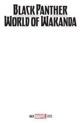 Marvel - Black Panther World Of Wakanda # 1 Blank Variant