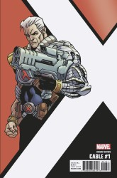 Marvel - Cable # 1 Kirk Corner Box Variant
