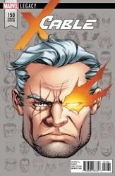 Marvel - Cable # 150 McKone Headshot Variant Leg