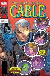 Marvel - Cable #150 Liefeld Lenticular Homage Variant