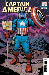 Marvel - Captain America (2018) # 2 Kirby Remastered Variant