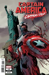 Marvel - Captain America (2018) # 12 Guice Carnage-Ized Variant