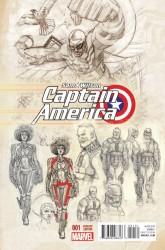 Marvel - Captain America Sam Wilson #1 Acuna Variant