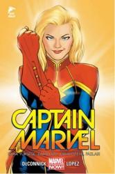 Çizgi Düşler - Captain Marvel Cilt 1 Daha Yükseğe, Daha Hızlı, Daha Öteye, Fazlası