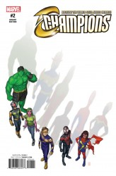 Marvel - Champions #2 Choi Variant