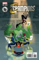 Marvel - Champions #2 STEAM Variant