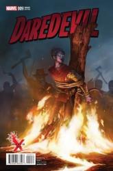 - Daredevil # 9 Rahzzah Death Of X Variant