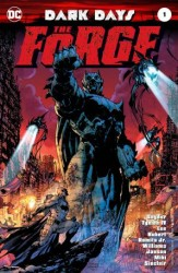 DC - Dark Days The Forge Scott Williams İmzalı Sertifikalı
