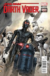 Marvel - Star Wars Darth Vader #13 Mann Connecting Variant