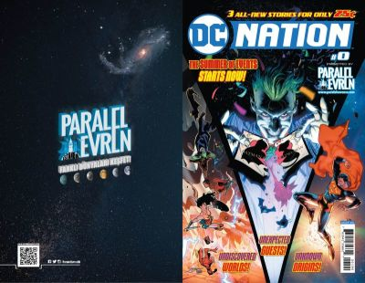 DC Nation # 0 Paralel Evren Retailer Variant
