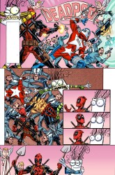 Marvel - Deadpool # 15 Secret Comic Variant