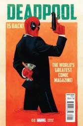 Marvel - Deadpool # 2 Wada Variant