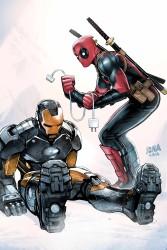Marvel - Deadpool # 32 AXIS