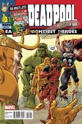 Marvel - Deadpool #45 Avengers Variant