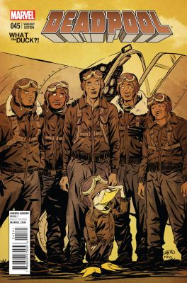 Deadpool # 45 Green Wtd Variant