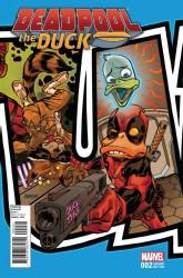 Marvel - Deadpool The Duck # 2 Johnson Connecting Variant