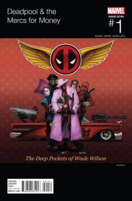 Deadpool & The Mercs For Money #1 Rahzzah Hip Hop Variant