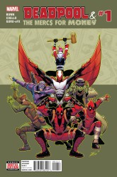 Marvel - Deadpool & The Mercs For Money # 1