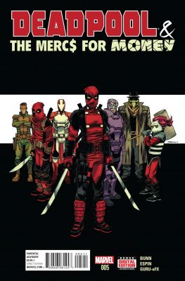 Deadpool & The Mercs For Money (2. Seri) # 5