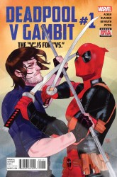 Marvel - Deadpool V Gambit #1