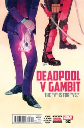 Marvel - Deadpool V Gambit #2