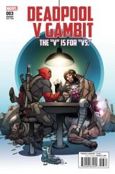 Marvel - Deadpool V Gambit # 3 Ferry Variant